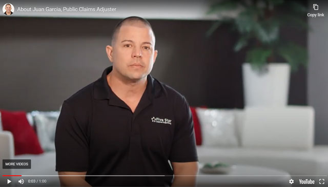 Your Claims Adjuster Video